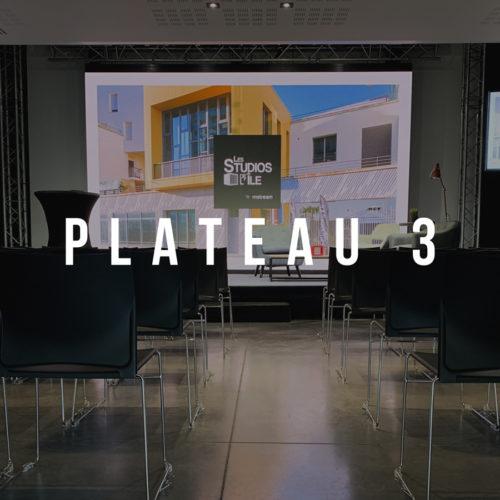 salle evenementielle nantes - plateau 3 studios de lile